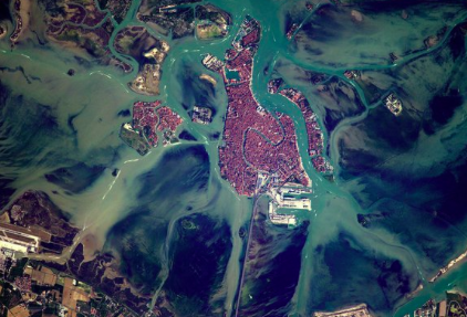Venice from space by Pesquet