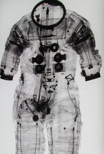 American astronaut spacesuit
